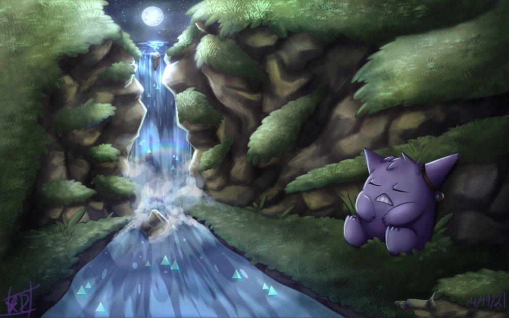 Diomed naptime-Pokemon OC fanart-.jpg